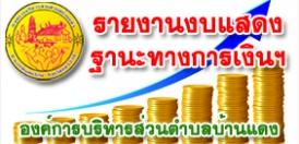 รายงานงบแสดงฐานะทางการเงินและงบประกอบอื่น ประจำปีงบประมาณ 2562